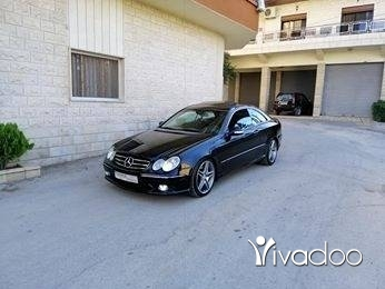 Mercedes-Benz in Zahleh - Mercedes clk 500 2003
