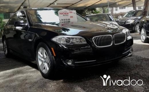 BMW in Beirut City - 528I black 2012 4cyl T Navigation