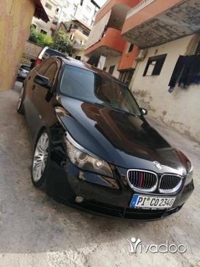 BMW in Beirut City - بي ام 525 انقاد 2006 شركي للبيعسعر نهاي