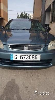"""Honda in Tripoli - هونداسيفيك98سياره خارقه فول اوبشن استعمال سيده على الفحص للتواصل حصرا""""على السفر"""