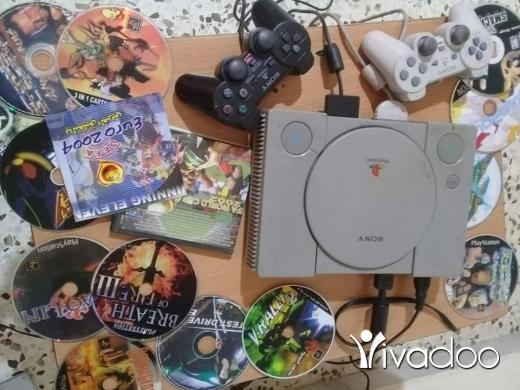 PS2 (Sony PlayStation 2) in Tripoli - بلاي ستايشن كامله مع اجمل الاالعاب