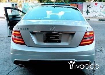 Mercedes-Benz in Haret Saida - C300 ajnabeih big screan camera bassmeh look AMG mod 2013 klm 50 alf