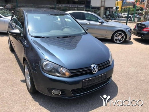 Volkswagen in Beirut City - GOLF 6 2012