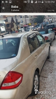 Nissan in Beirut City - For sale . Nissa tida 2010