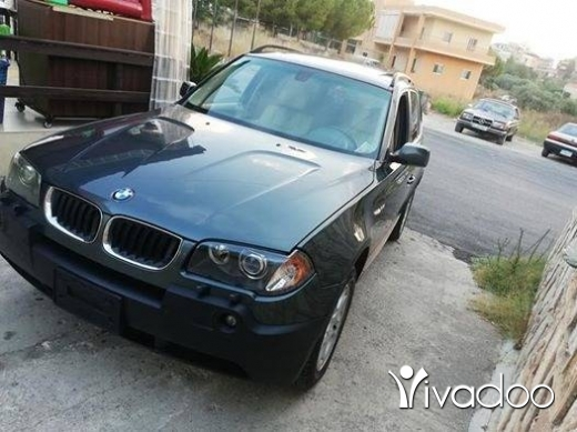 BMW in Nabatyeh - bmw X3 model 2004 jeep ktir ndif moter vites mikanic ac top enkaz contact 03237206