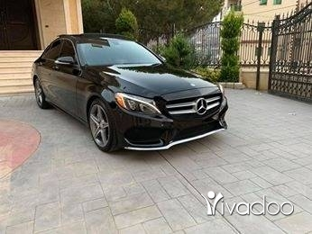 Mercedes-Benz in Nabatyeh - Mercedes Benz C300 2015 Amg Look Rear wheels drive no accident reported