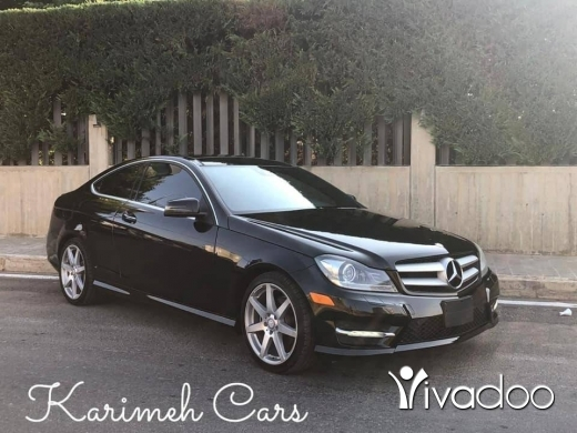 Mercedes-Benz in Beirut City - Mercedes C250 Coupe; Model: 2013
