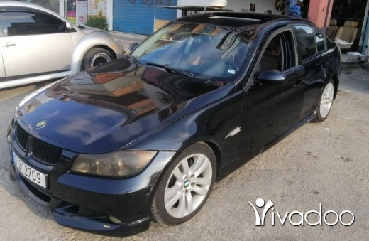BMW in Hazmiyeh - BMW 328i 2007 BLK, Full Options, Good Condition, Ricaro Leather Seats, ABS, A/C, Airbags, Roof Rack