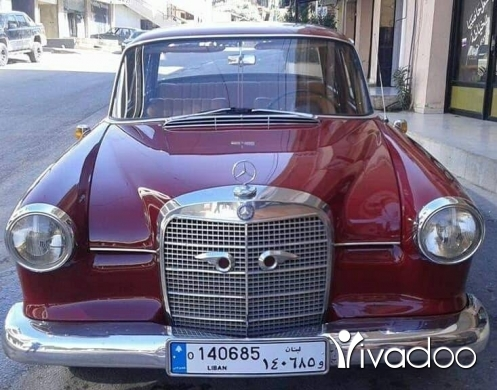 Mercedes-Benz in Hasbaya - Mercedes benz 190 mod 1963