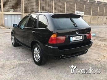 BMW in Tripoli - BMW X5 3.0 Model 2003 Full Options