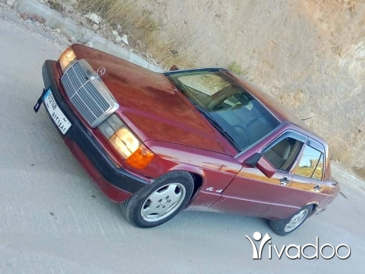 Mercedes-Benz in Baalback - مرسدس ١٩٠