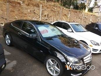 Mercedes-Benz in Tripoli - Mercedes C 250 Coupe Turbo Blue Efficiency Start Engine Keyless Panoramic