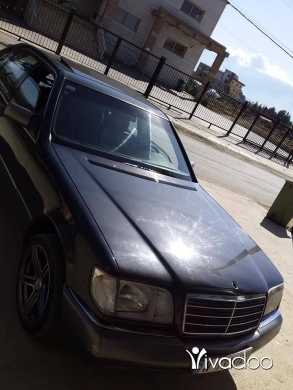 Mercedes-Benz in Bekka - مرسيدس شبح ٣٠٠ موديل ال ٩١ جديدة ما فيها شي كاش او تبديل