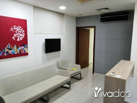 Office Space in Jdeideh -  A 100 m2 fully decorated office / clinic for sale in Jdeide