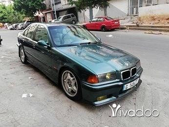 BMW in Beirut City - For sale BMW 328i model 1998 full vites Ac fat7et sa2ef 4 Airbags tell