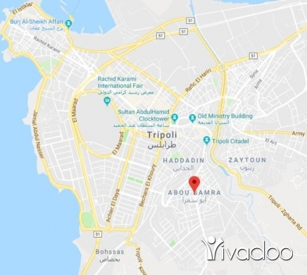 Apartments in Abou Samra - شقة كبيرة للأجار في مدينة طرابلس ابي سمراء ثلاث غرف نوم و صالون وجلوس