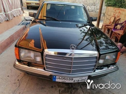 Mercedes-Benz in Baalback - ٢٨٠ موديل ٨٥