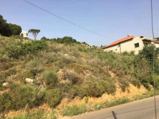 Land in Ain Enoub - Land in Ein Enoub 1289 m2 for sale zone villas
