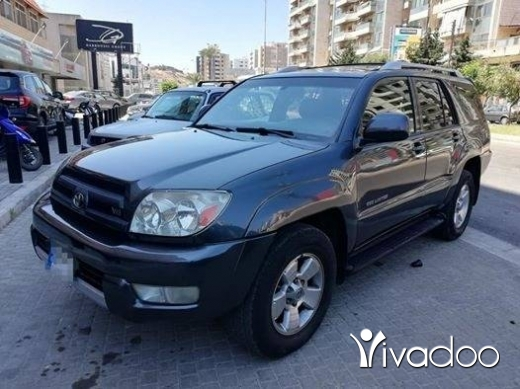 BMW in Tripoli - toyota 4runner 2003 limited edition V8