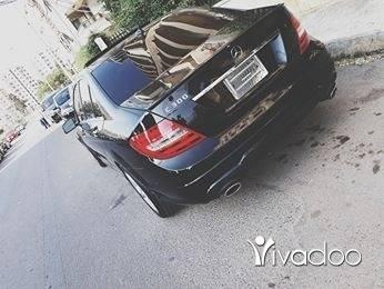 Mercedes-Benz in Al Mahatra - Mercedes c 300 model 2012 ajnabiye khar2a bel nadafe dwelib jdeed bel wara2 kamira w cheche