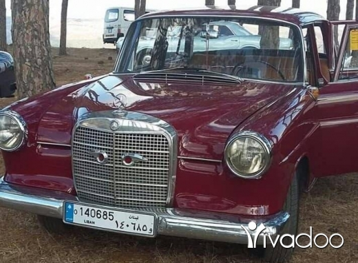 Mercedes-Benz in Hasbaya - Mercedes benz 190(1963).