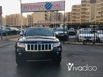 Jeep in Beirut City - Grand Cherokee Overland 2011