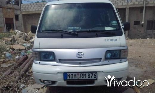 Vans in Port of Beirut - Mazda