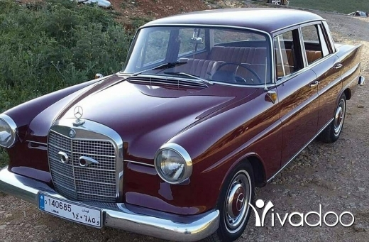 Mercedes-Benz in Hasbaya - Mercedes benz 190(1963)