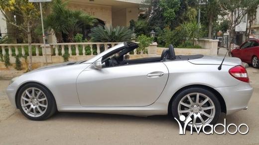 Mercedes-Benz in Ain el-Remmaneh - مرسيدس SLK350 كشف