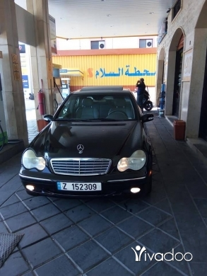 Mercedes-Benz in Nabatyeh - Mini Mercedes model 2003 c230