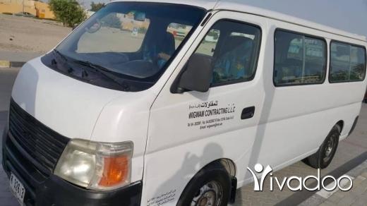 Vans in Barja - فان ١٤ راكب نيسان للبيع موديل ٢٠٠٩ اجنبي
