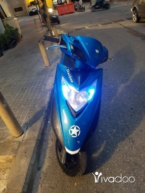 Bashan in Beirut City - Haojue lindy 125cc