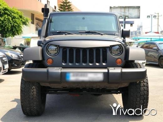 Jeep in Beirut City - 2009 Wrangler