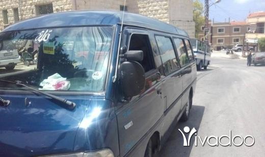 Vans in Port of Beirut - Hyundai 99