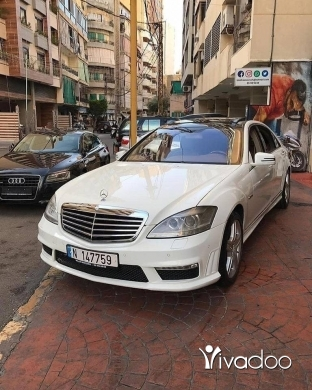 Mercedes-Benz in Beirut City - Mercedes-Benz S550 2008
