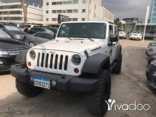 Jeep in Beirut City - 2011 Jeep Wrangler Sport Unlimited