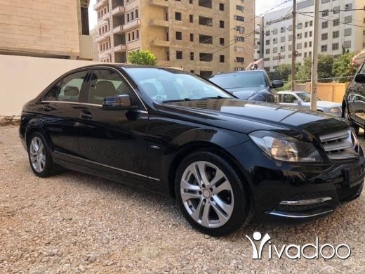 Mercedes-Benz in Tripoli - C 180 modell 2012 clean car panoramic