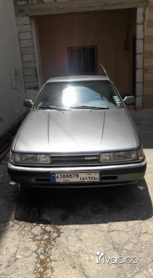 Mazda in Port of Beirut - سيارة مازدة موديل 1989