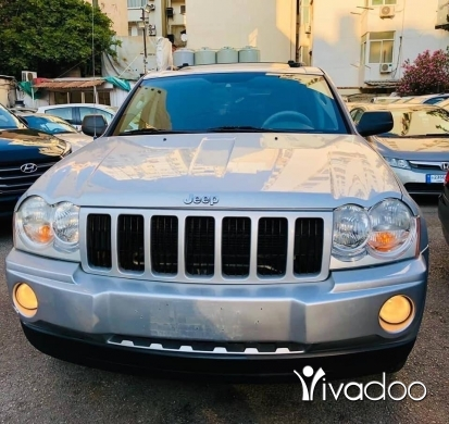 Jeep in Beirut City - Hrand cherokee 2005