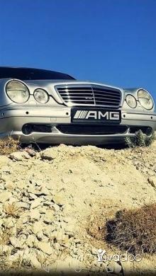 Mercedes-Benz in Tripoli - E55 AMG V8 asliyi orginal ba3da cherki full options modell 2002 ma3layha wala sni mekanik wm2amni