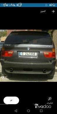 BMW in Beirut City - X5 2002 ﺍﻟﻤﺎﻧﻲ