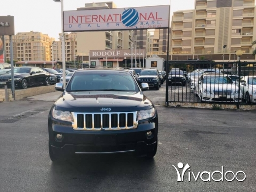 Jeep in Port of Beirut - Grand Cherokee Limited 2013
