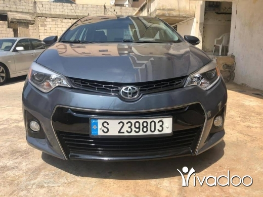 Toyota in Beirut City - Toyota Corolla 2014
