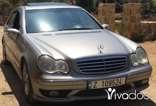 Mercedes-Benz in Hasbaya - C230/2006.