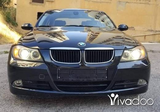 BMW in Beirut City - 2007 BMW 328 Black Full option