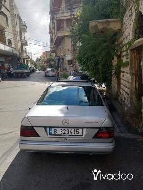 Mercedes-Benz in Port of Beirut - مرسيدس ce300 كوبي