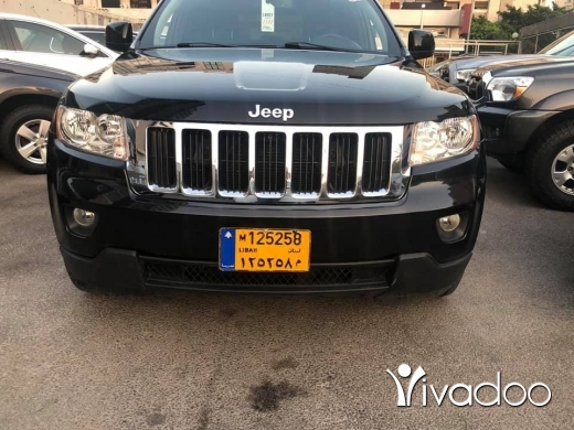 Jeep in Beirut City - grand cherokee 2012 clean carfax