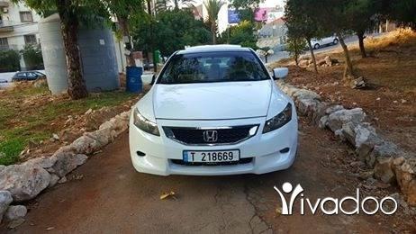 Honda in Beirut City - هوندا اكورد موديل ٢٠٠٨