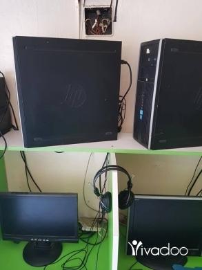 Desktop & Workstation PCs in Zgharta - 10 pc core i5 kamlin bs mn dun ups RAM 4gb VGA MSI 2 gb
