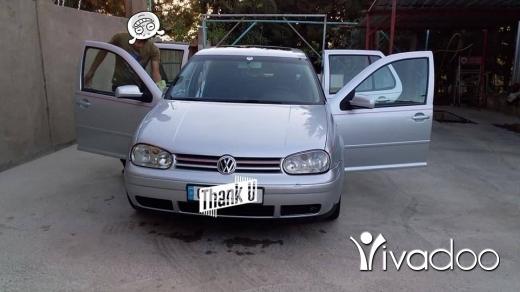 Volkswagen in Port of Beirut - Golf 4 modell 2002 automatic 4 cilender mfawali ktir ndifi